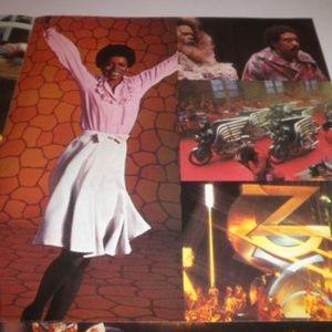 diana ross michael jackson 1977 WIZ LP poster